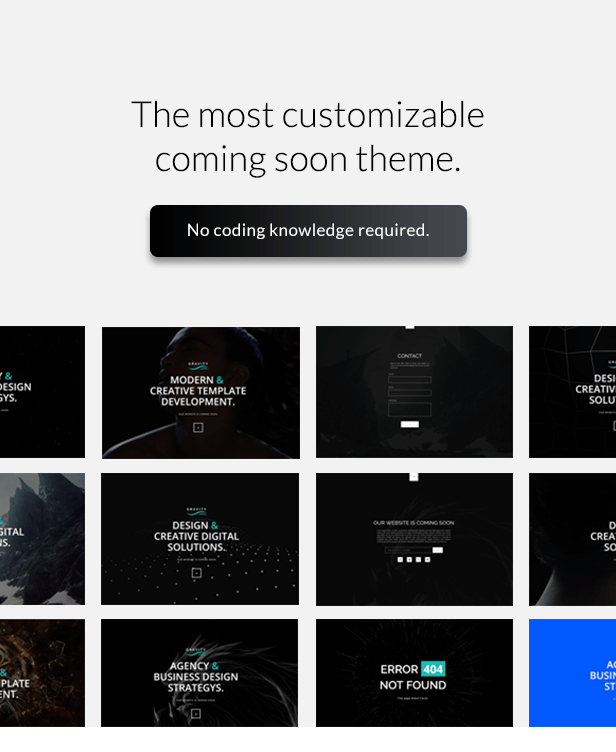 Gravity - Multi-Purpose Coming Soon Theme Download