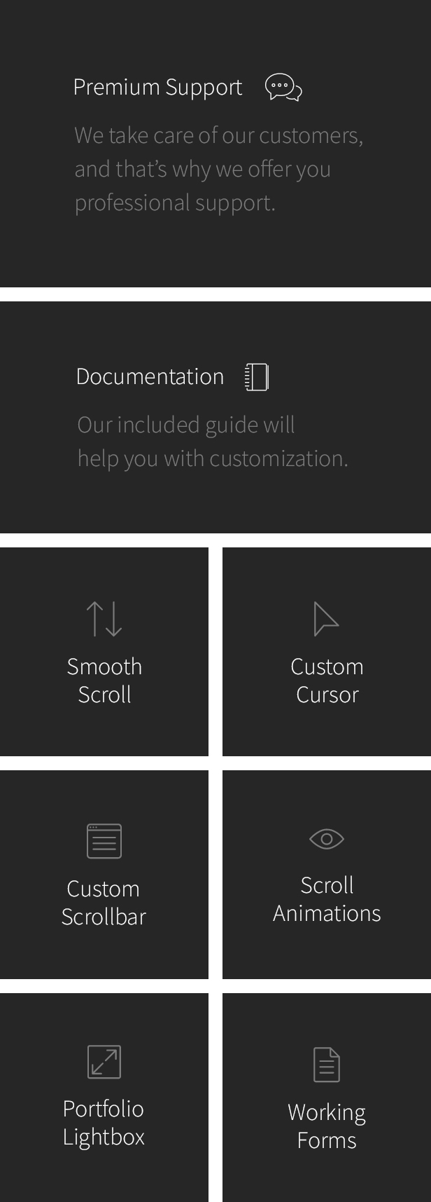 Reframe - Personal One Page Portfolio HTML Template - 6